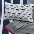 Galley Grade Cushion and Throw
