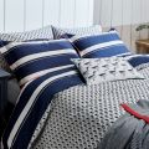 Galley Grade Stripe Duvet & Pillow Set