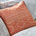 Toco Orange Feather Filled Cushion