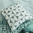 Aqua Blue Bed Cushion