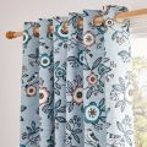 Jay Lined Curtains Sky