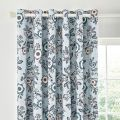 Helena Springfield Jay Lined Curtains  in Sky Blue