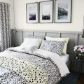 Anise Charcoal Grey Bed Linen