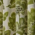 Paloma Lined Willow Curtains Close