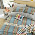 Macaw Bright Striped Bedding