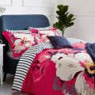Bircham Bloom Raspberry Bedding