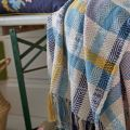 Cambridge Garden Chalk Woven Throw