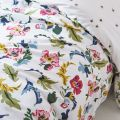 Cambridge Garden Bed linen in Chalk White