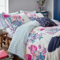 Cottage Garden Floral White Bedding