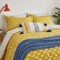 Joules Heron Print Duvet Cover Sets in Gold