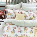 Pink & Yellow Floral Bed Linen