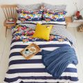 Joules St Ives Bedding in French Navy