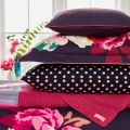 Winter Bloom Pillow Stack