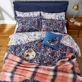 Woodland Ditsy Navy Floral Bedding