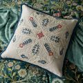 Wilhelmina Embroidered Floral Cushion