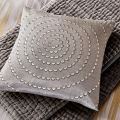 Harlequin Cushions in Silver