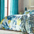 Baja Citrus & Blue Floral Bedding