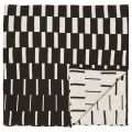 Sula Knitted Bed Throw in Graphite
