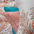 Crayford Paisley Pillow Stack Coral