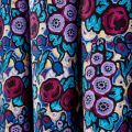 Twilight Garden Pair of Lined Curtains Close