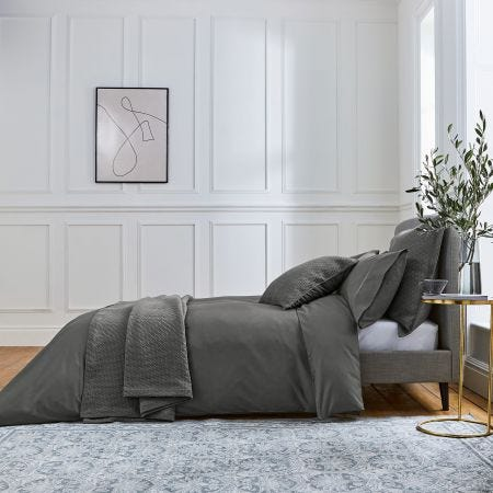 Andaz Charcoal Grey Bed Linen