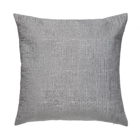 Cranes in Flight Silver Cushion Front