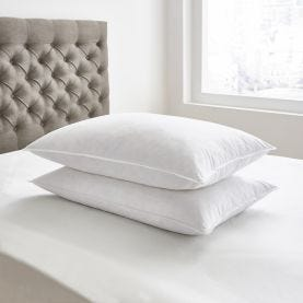 Bedeck Goose Feather And Down Pillows White