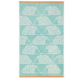 Spike Towel in Aqua