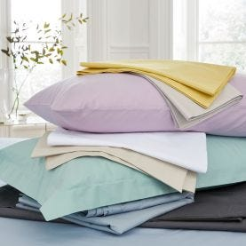 Bedeck of Belfast 200 Thread Count Plain Dye Sheets