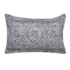 Cadenza Grey Oxford Pillowcase