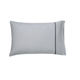 Cadenza Grey Housewife Pillowcase