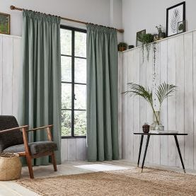 Chroma Grey Lined Curtains.