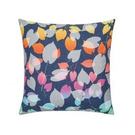 Scattered Hearts Cushion Front Rainbow