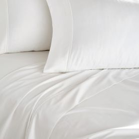 DKNY 300 Thread Count Plain Dye Fitted Sheets