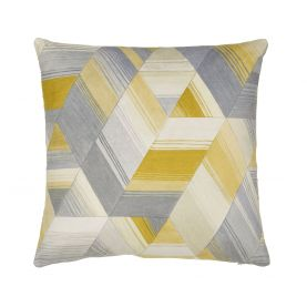 Axal Ochre Cushion Front