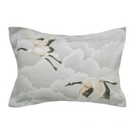 Cranes in Flight Silver Oxford Pillowcase