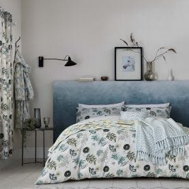 Amalie Aqua Botanical Bedding