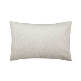 Faded Mesh Pair of Housewife Pillowcases Mineral Grey