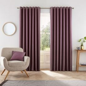 Grape Purple Curtains