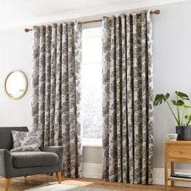 Paloma Silver Lined Curtains