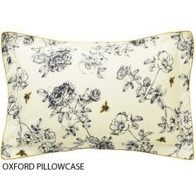 Floral Print Oxford Pillowcase