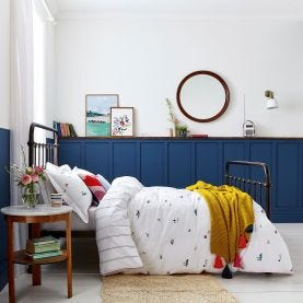 Joules Countryside Bedding in White