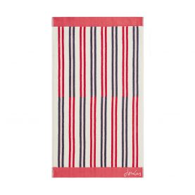 Raspberry Dawn Shadow Stripe Towel