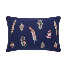 Feathers Cushion Navy