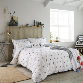 Garden Dogs Duvet Cover Set
