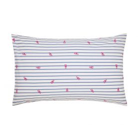 Orchard Ditsy Blue Yonder Housewife Pillowcase