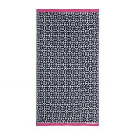 Tile Geo French Navy Towel