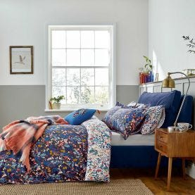 Joules Navy Floral Bedding