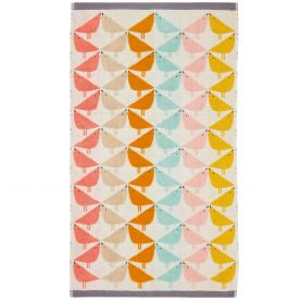 Lintu Guest Towel, Chalky Brights