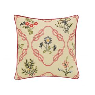 Strawberry Thief Cushion, Crimson